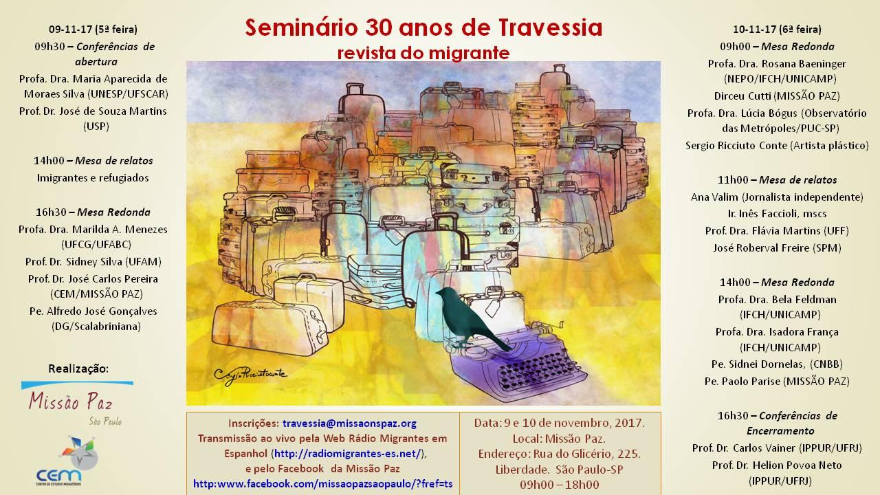 Profa Maria Moraes é convidada em seminário promovido pela Revista Travessia