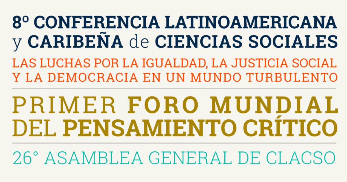 Conferencia Latinoamericana y Caribeña de Ciencias Sociales