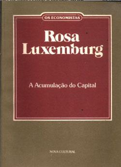 acumulação do capital